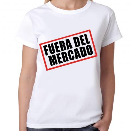 Camiseta despedida soltera fuera de mercado