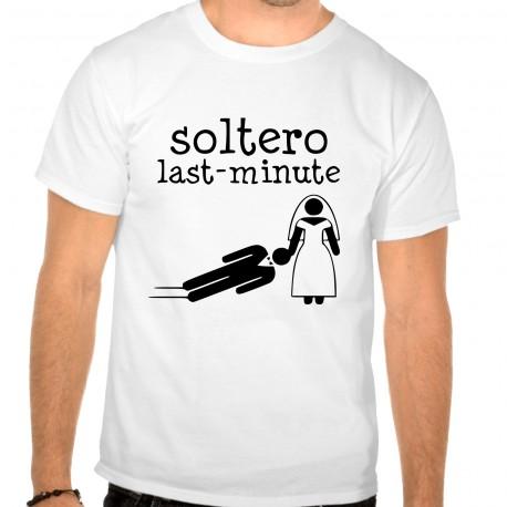 Camiseta despedida soltero last minute