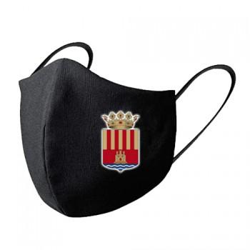 Mascarilla tela lavable escudo Alicante