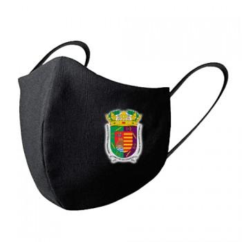 Mascarilla tela lavable escudo Málaga