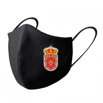 Mascarilla tela lavable escudo Murcia