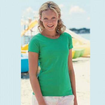 Camiseta Mujer Personalizable Entallada-cuello redondo