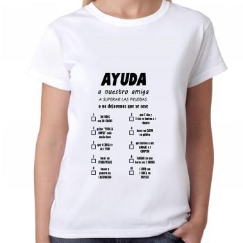 Camiseta despedida soltera esposada