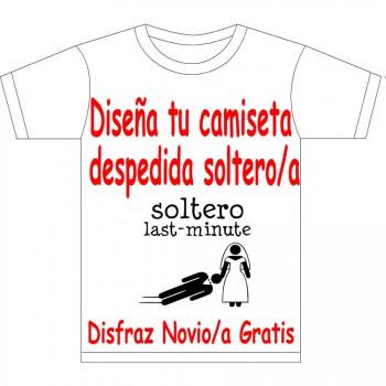 Camiseta Despedida de soltero/a