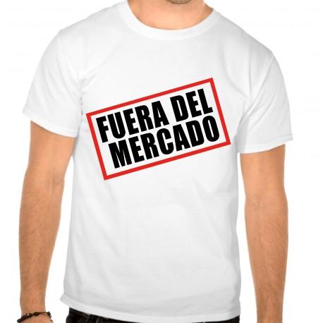 Camiseta despedida soltero fuera de mercado