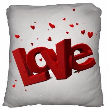 Cojin personalizable algodón - San Valentín